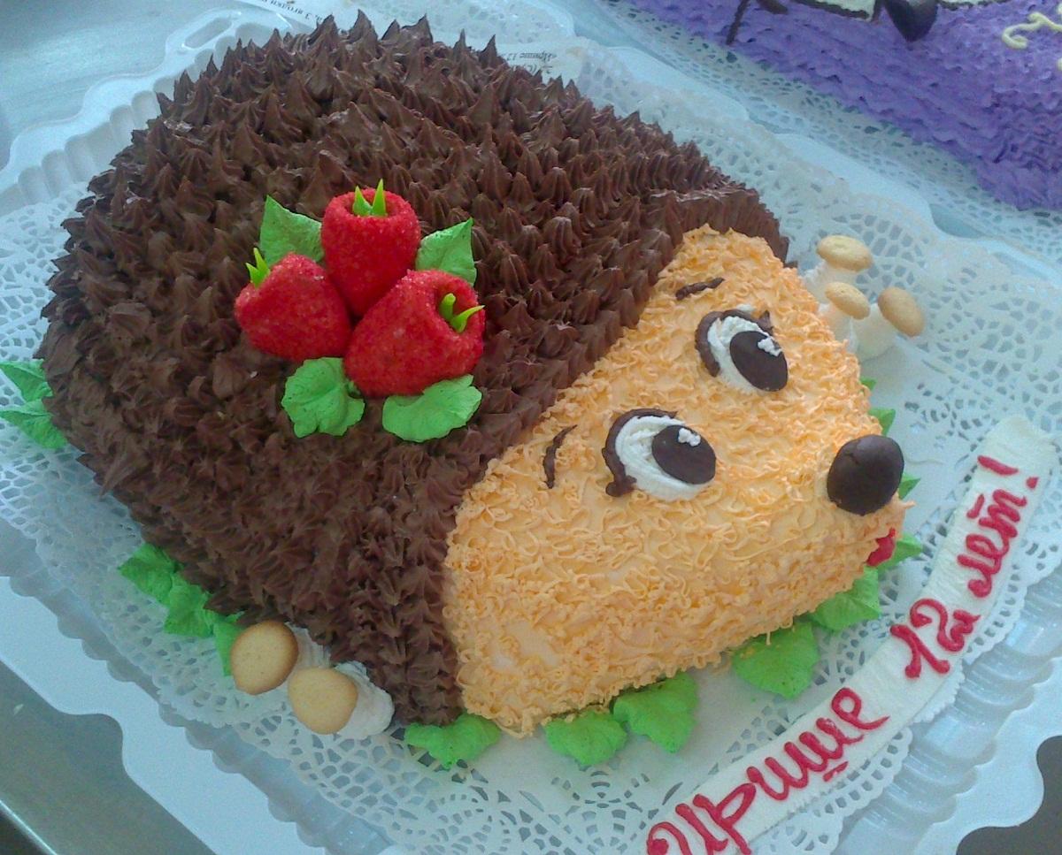 Как сделать самой фигурный торт